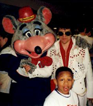 Chuck E. Cheese and Don Obusek
