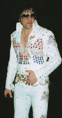 "Don Obusek as ""Elvis"""